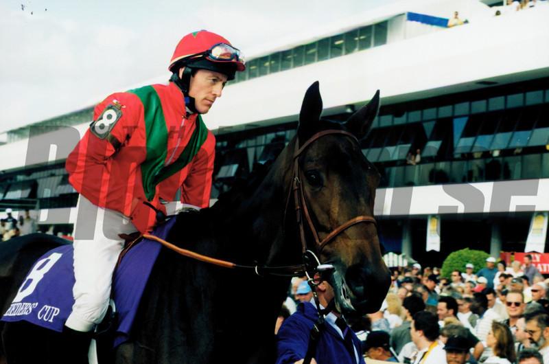 Borgia (GER); 11/1999; Breeders' Cup Turf<br /> Anne M. Eberhardt
