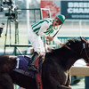 Corey Nakatani with Jewel Princess in the 1996 Breeders' Cup Distaff<br /> Skip Dickstein Photo