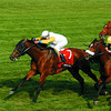Caption: Perfect Soul with Edgar Prado up wins the<br /> Maker's Mark Mile at Keeneland on April 9, 2004, near Lexington, Ky.<br /> MakersOrigs1<br /> image32<br /> Photo by Anne M. Eberhardt