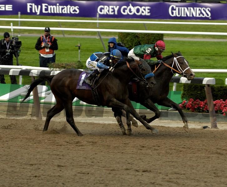 Silver Train wins the 2005 Breeders' Cup Sprint<br /> Anne M. Eberhardt