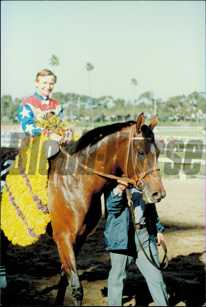 Theatrical Breeder's Cup 1987<br /> Skip Dickstein Photo