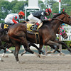 Sightseeing wins the 2007 Peter Pan Stakes.<br /> Coglianese Photos