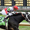 Dubai Majesty wins the Breeders Cup Filly and Mare Sprint at Churchill Downs, Nov 2010<br /> Dave Harmon Photo