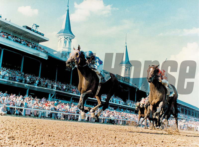 1987 Kentucky Derby won by Alysheba
