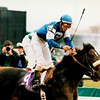 Cherokee Run wins the 1994 Breeders' Cup Sprint<br /> Skip Dickstein