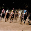 Safely Kept wins the 1990 Breeder's Cup Sprint.<br /> Photo by: Anne M. Eberhardt