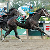 Scat Daddy wins the 2006 Champagne (gr. I).<br /> Coglianese Photos