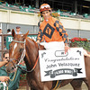 John Velazquez records 4000 wins at Belmont Park, Sept 28, 2008