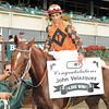 John Velazquez records 4000 wins at Belmont Park, Sept 28, 2008