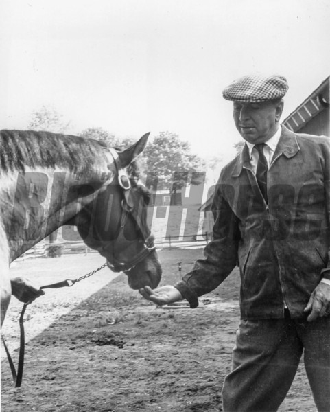 Northern Dancer with Horatio Luro in May 1964<br /> Coglianese Photos