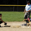 STAN HUDY - SHUDY@DIGITALFIRSTMEDIA.COM<br /> Classie Lassies Boom 10U Joslyn Teal safe at second.