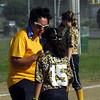 STAN HUDY - SHUDY@DIGITALFIRSTMEDIA.COM<br /> Classie Lassies Boom 10U Coach Katy Lucey with Mia Lucey