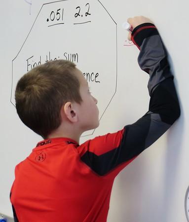 Classroom of the Week: Teresa Bill's fifth-grade class at Craneville Elementary 011918