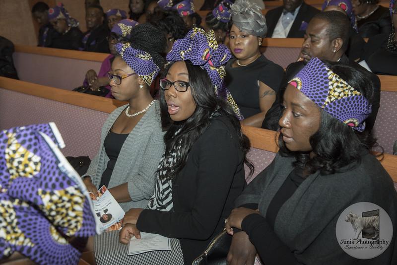 Claudia Keni Burphy Addison's Funeral/Repast Photos Long