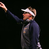 (Friday October 11th 2013 - Clawson High School - Clawson, MI) Clawson High Football Head Coach Jim Sparks. Photo by: Brian Sevald