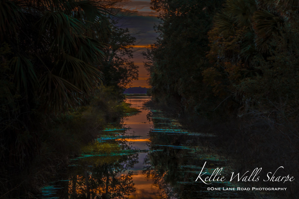 Sunset on McDonald Canal