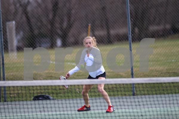2017 Clear Lake Girls Tennis vs Mason City