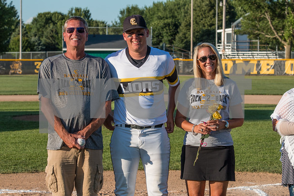 2017 Clear Lake Baseball Senior Night