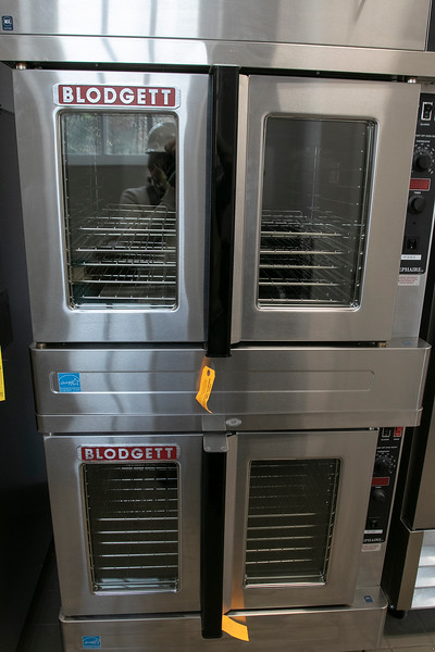 Clear Path for Veterans is renovating a building on Devens. This is their ovens in their new kitchen. SENTINEL & ENTERPRISE/JOHN LOVE
