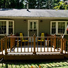 1268 Front porch with flags