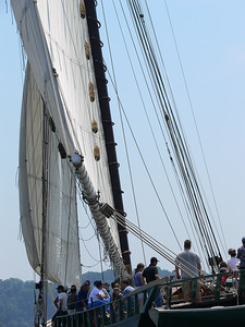 The Hudson River Sloop Clearwater.