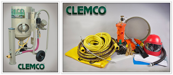 2 cuft Contractor Blast Machine System with High Pressure Supplied Air Respirator Stock No. 21547