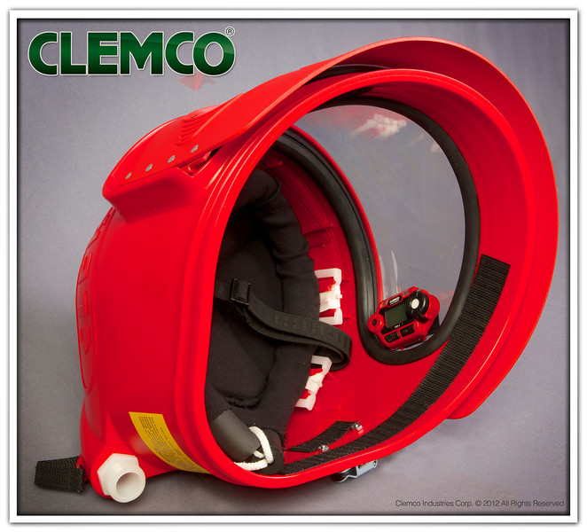 CMS-3 Installed in Respirator