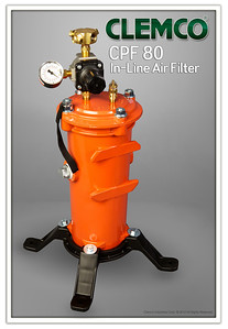 CPF-80 Breathing Air Filter with Regulator Stock No. 03527