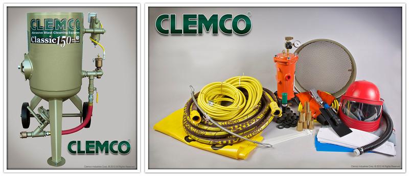 2 cuft Blast Machine System with High Pressure Supplied Air Respirator Stock No. 23907