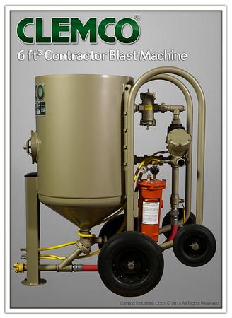 6 cuft Contractor Blast Machine