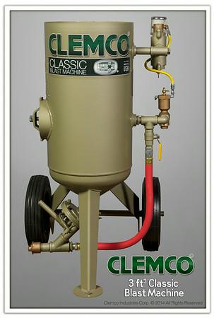 "Model 1648, 3 cuff Classic Blast Machine, 16"" diameter 300 lb capacity."
