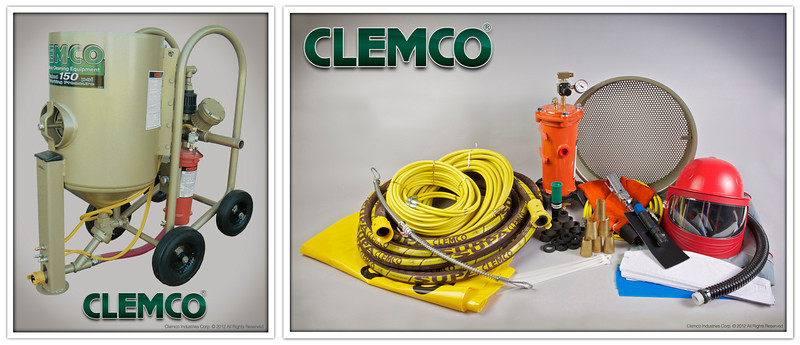 6 cuft Contractor Blast Machine System with High Pressure Supplied Air Respirator Stock No. 21549