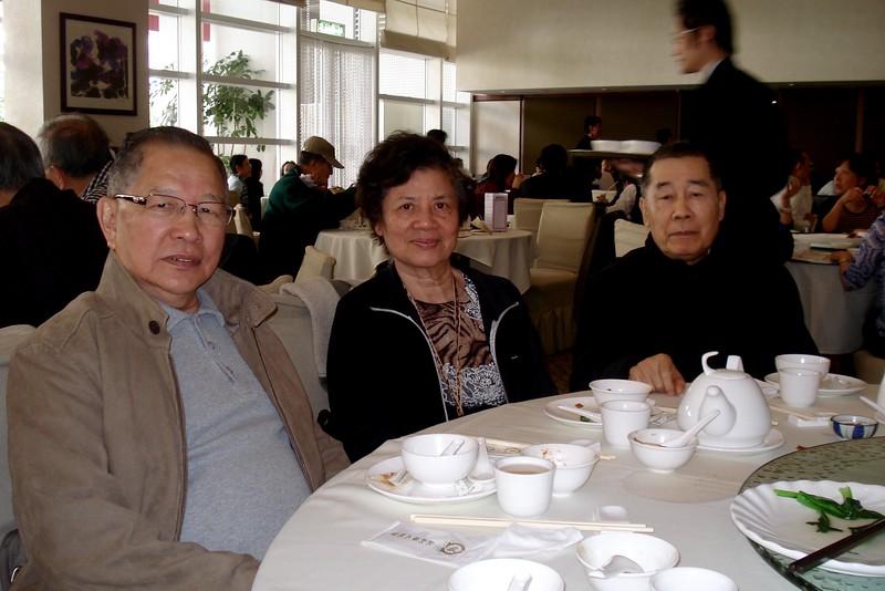金文泰中學 1954年 同學會 聚餐 在 香港木球會 (照片 拍攝於 2008年12月)