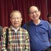與 陳繼炎 合拍  (照片 拍攝於 2011年4月)