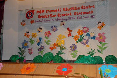 PCF Clementi Education Centre Graduation Concert Ceremony 2006, at Clementi Community Centre. Guest of Honour: Mr Arthur Fong, MP for West Coast GRC