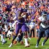 Deshaun Watson takes off for a 1-yard touchdown run Saturday against Syracuse.