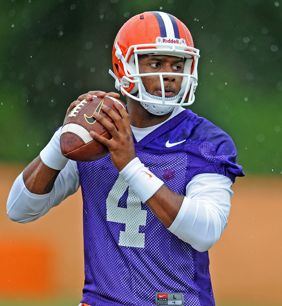 Clemson Opens Fall Practice