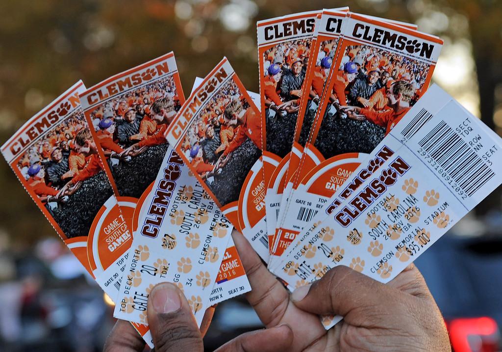 Clemson vs USC