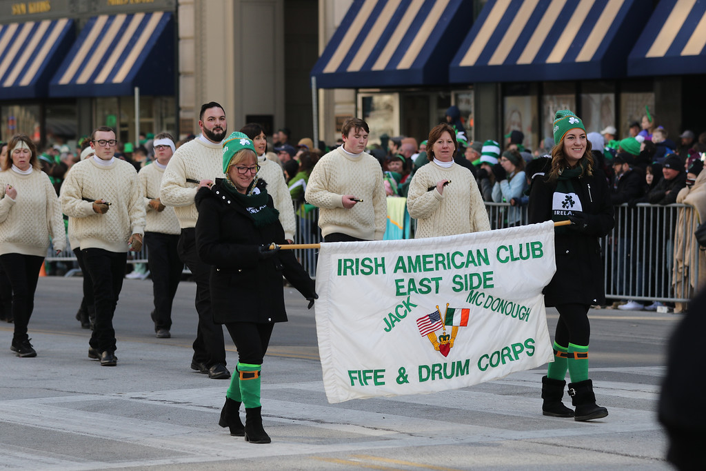 . Jonathan Tressler �The News-Herald <br> A scene from the 176th Annual Cleveland St. Patrick�s Day Parade March 17, 2018.