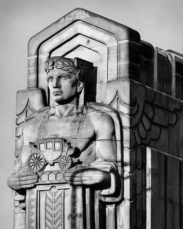 Guardian of Transportation #3 Lorain Carnegie Bridge Ohio City Cleveland
