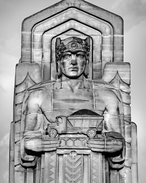 Guardian of Transportation #2 Lorain Carnegie Bridge Ohio City Cleveland