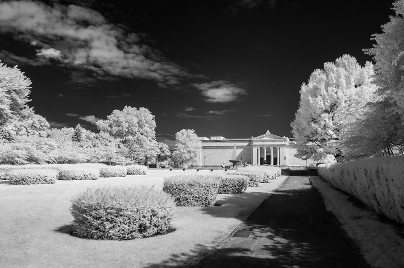 Cleveland Museum of Art Fine Art Garden View