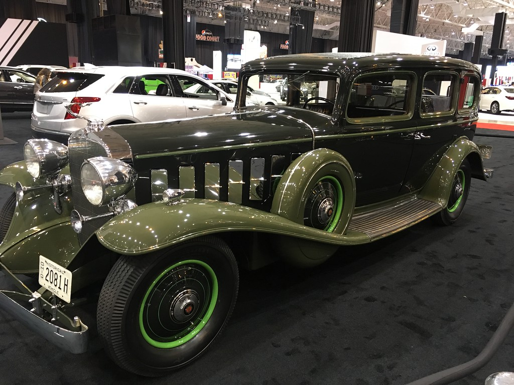 . 1932 Cadillac Imperial Limousine. David S. Glasier, The News-Herald