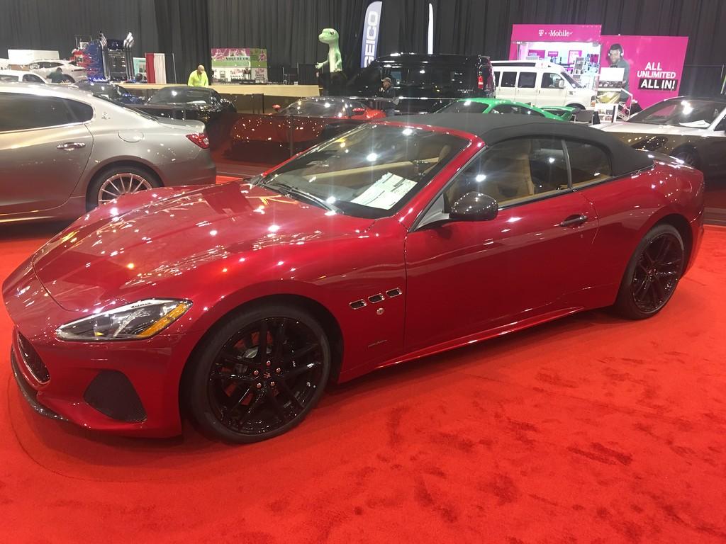 . Maserati Gran Turismo convertible; price tag $177,000