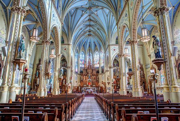 THE SHRINE CHURCH OF ST STANISLAUS