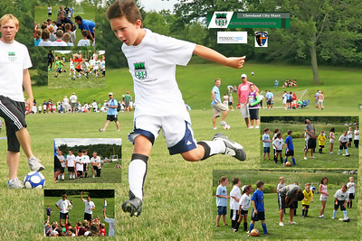 Soccer Camp with CCS, Charlotte Eagles, Mosaic in Stow OH