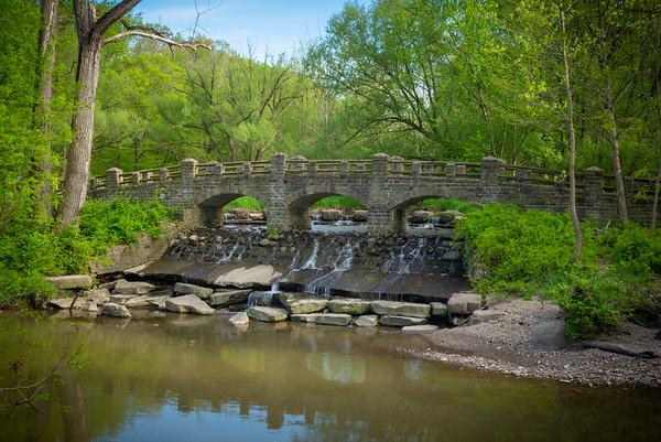 The Old Boating Pond Bridge