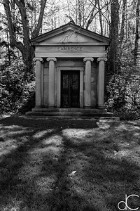 Lawrence Mausoleum, April 2017.