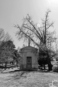 Brichtie - Winslow Mausoleum, April 2017.
