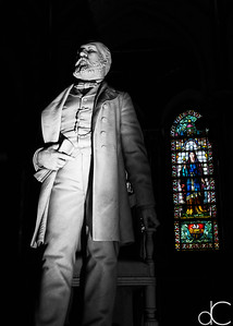 Statue of President James A. Garfield, 2017.